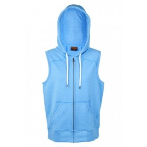 Greatness Zip Sleeveless Hoodie-Ladies