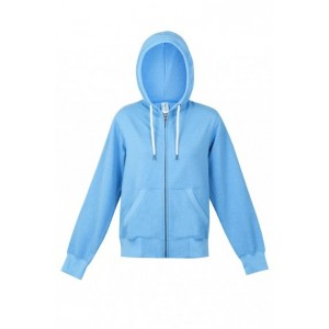 Greater Heather Brushed Fleece Zip Hoodie - Ladies