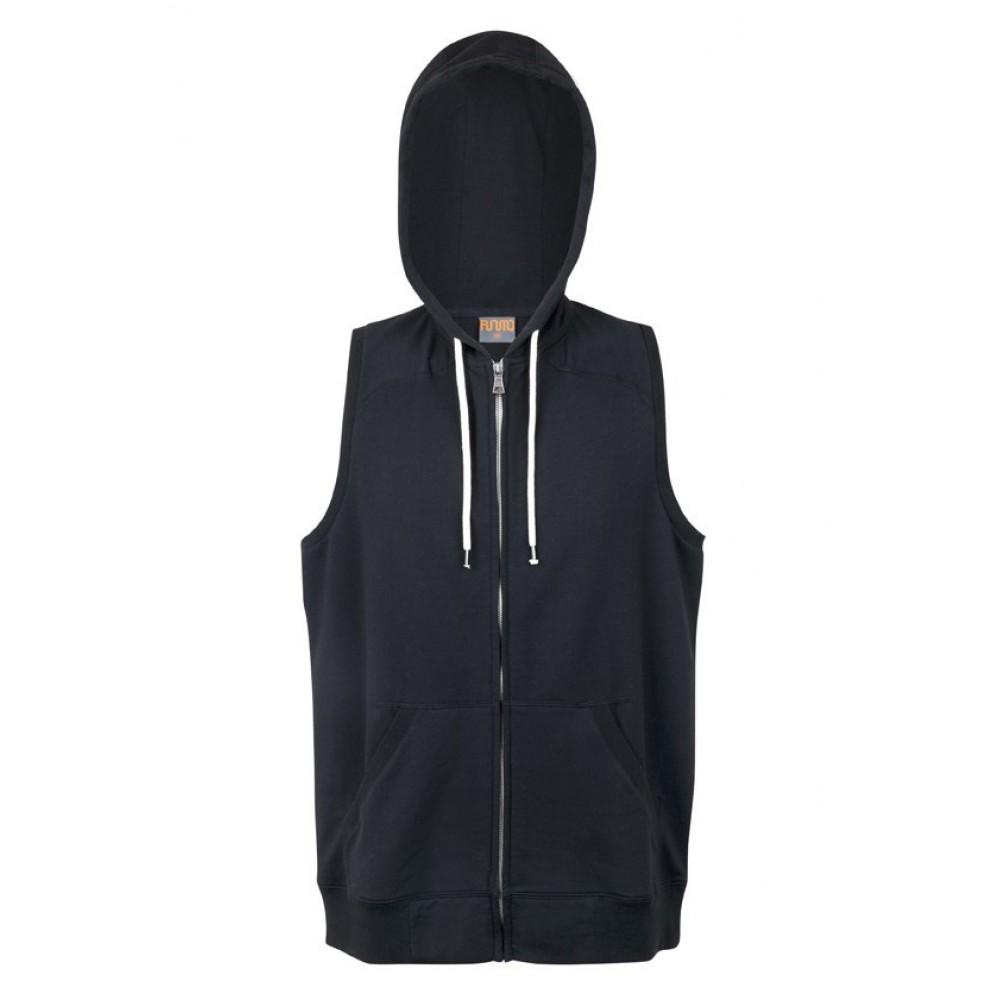 Personalised Sleeveless Hoodie Sleeveless Zip Hoodie