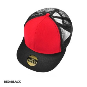 Snap 2- Classic Poly Twill with Mesh Backing