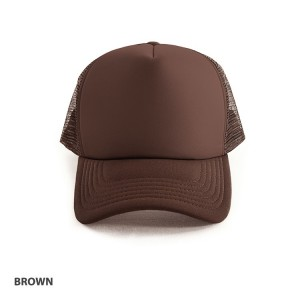 Trucker Mesh Cap-Polyester with Mesh Backing