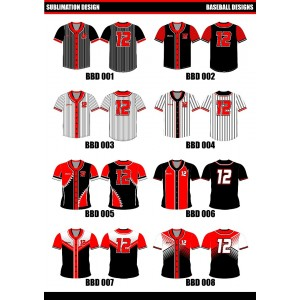 Sublimated Softball / Baseball Top
