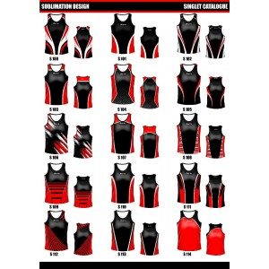 Sublimated Touch/Tag Singlet