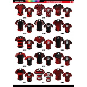 Sublimated Rugby Jersey Regular Fit- V Neck