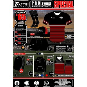 Pro Rugby Special Kit