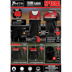Matai Club Ladies Training Kit Special