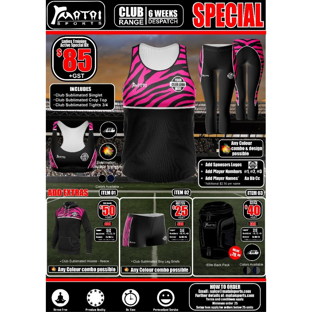Club Training-Active Special Kit -Women