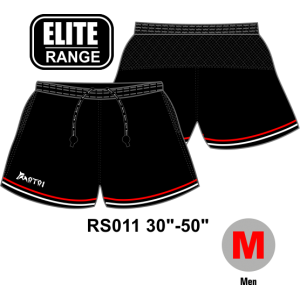 Sublimated Elite Rugby Shorts