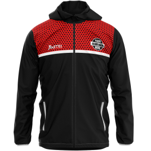Club Sublimated Track Jacket- lining & hood