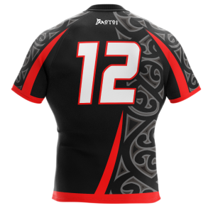 Pro Sublimated Rugby Jersey-Regular Fit-Maori