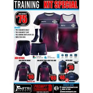 Matai Club Ladies Training Kit Special