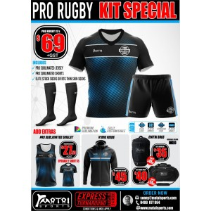 Pro Rugby Kit Special