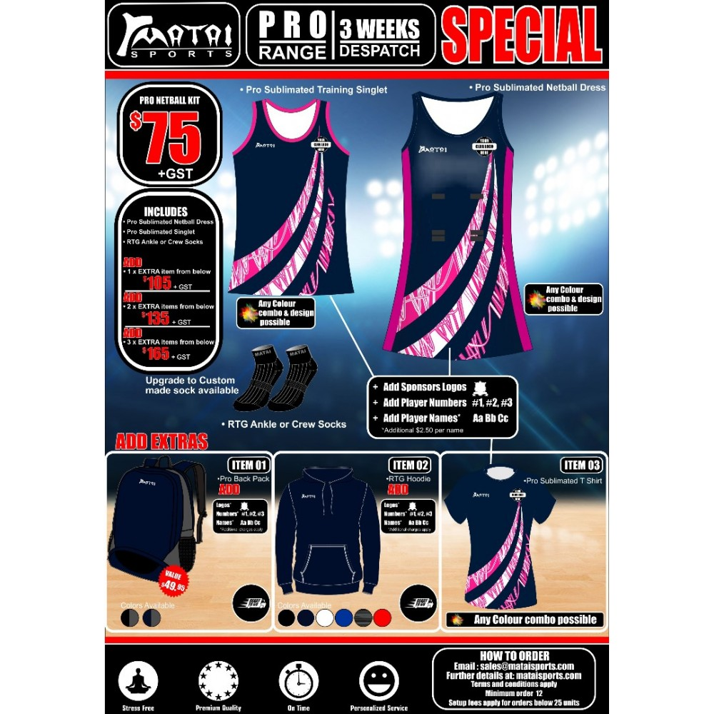 Pro Netball Special Kit