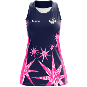 Pro Sublimated Netball Dress- Full Back