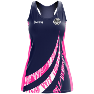 Pro Sublimated  Netball Dress- Racer Back