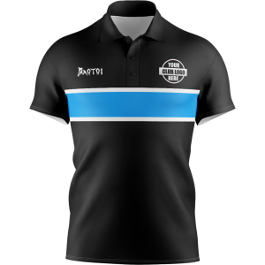 Pro Sublimated Polo Shirts Set in Sleeve
