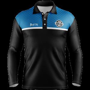 Pro Sublimated Long Sleeve Polo Shirt II- Unisex