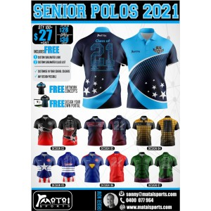 Special - School Leavers Polos