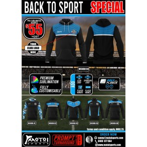 Club Sublimated Hoodie Special
