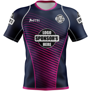 Sublimated Womens Rugby Jersey-Athletic Fit