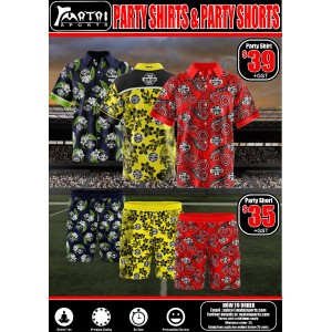 Party Shirts & Shorts Special