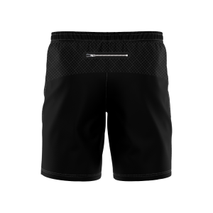 "Elite Cut & Sew  8"" Training Short - Zip Pockets"