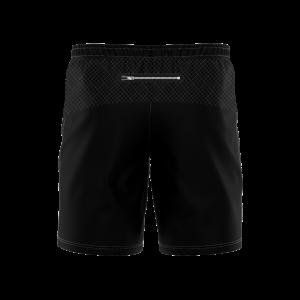 "Elite Cut & Sew  8"" Training Short - Zip Pockets"