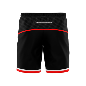 "Elite Sublimated 8"" Training Shorts- Zip Pockets"