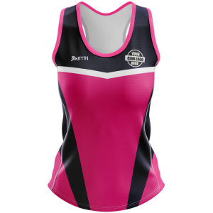Pro Sublimated Women's Fitted Singlet- Racer Back