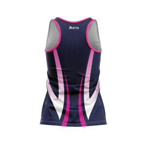Sublimated Pro Netball Fitted Singlet- Racer Back