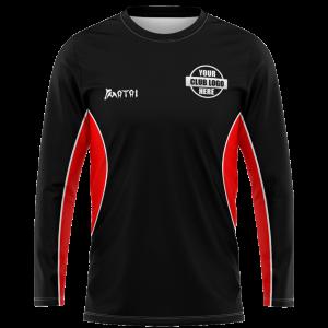 Pro Sublimated Long Sleeve T Shirt- Raglan Sleeve