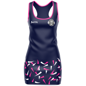 Elite Sublimated Netball  Dress-With Hand Dry