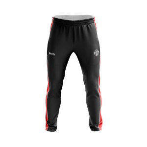 Club Sublimated Track Pant- lining & zip leg