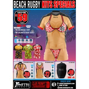 Beach Rugby Kit Specials