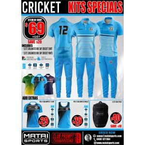 One Day - Cricket Kits Specials