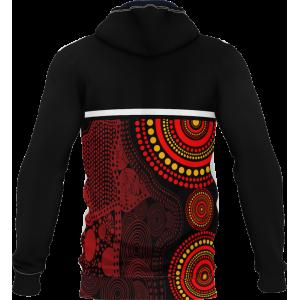 Pro Sublimated Fleece Hoodie- Unisex Indigenous
