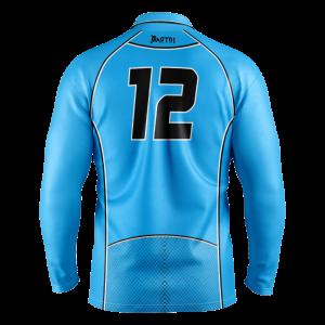 One Day Sublimated Cricket Shirts- L/Sleeve Senior/Junior