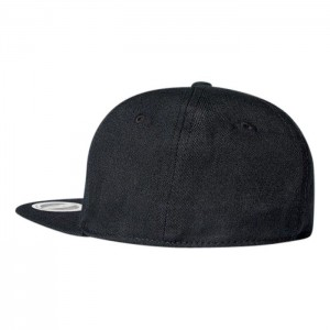 Fitted Flat Peak Cap